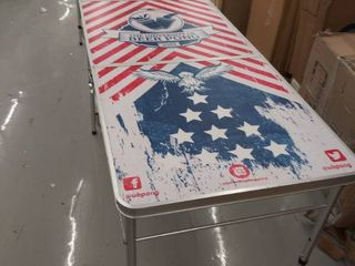 UBPONG 8ft beer pong table DAMAGED