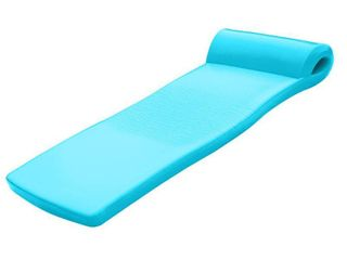 Texas Recreation Ultimate Swimming Foam Pool Floating Mattress  Teal  2 25AaA Thick   Not Inspected