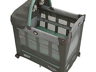 Graco Travel lite Crib   Travel Crib Converts from Bassinet to Playard  Manor