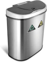 automatic motion sensor trash can 18and half gallons