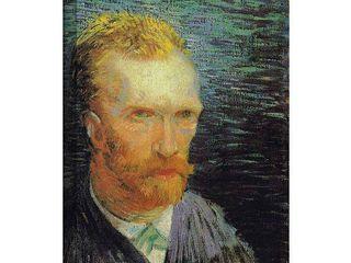24 x 32 Vincent van Gogh  Self Portrait  Wrapped Canvas Art