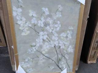 flower picture framed
