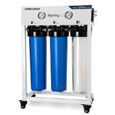 iSpring CRO1000 Tankless Commercial 1000 GPD Reverse Osmosis Water Filter  Retail 1234 99 white