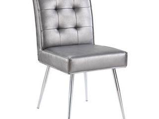 Porch   Den Dunlap Mid century Dining Chair  Retail 125 49 pweter