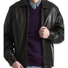 Men s James Dean Black lamb leather Jacket  Retail 131 49 small