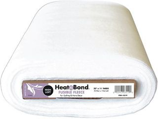 Heat n Bond Extra High loft Fleece Fusible Interfacing White 20 X11yd FOB  MI   White