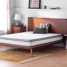 osleep 8 inch memory foam spring hybrid mattress twin