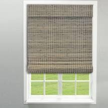 arlo blinds cordless lift bamboo shade grey wash 40x60