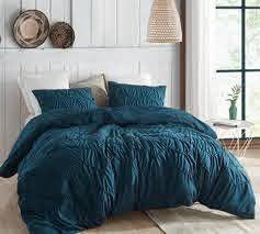 byourbed texture design waves comforter queen xl