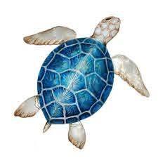 sea turtle small wall decor