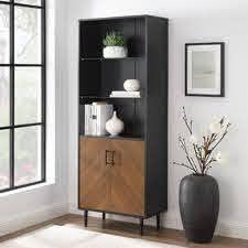 Carson Carrington Modern Storage Cabinet  Retail 269 99 black