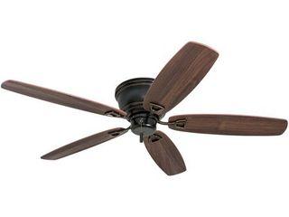 52  Honeywell Glen Alden low Profile Hugger Ceiling Fan  Oil Rubbed Bronze  Retail 105 85