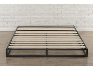 Priage by Zinus 6 Inch King Size Platforma low Profile Bed Frame only Retail 166 49