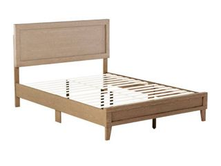 Brookside leah Classic Wood Platform Bed only Retail 186 49 Golden maple twin no headboard