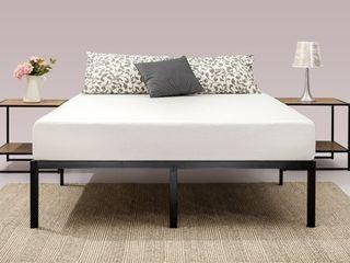 Priage by Zinus Black Steel 14 inch Platform Bed Frame only   Retail 139 49 queen