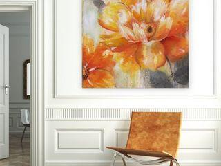 Wexford Home  Orange Crush II  Premium Gallery Wrapped Canvas Art  Retail 87 99