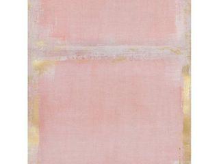 Masterpiece Art Gallery Golden Blush Abstract By Belle Maison Canvas Art Print