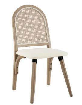 Art leon Rattan Dining Chair  Beige