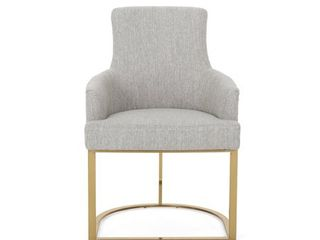Gloria Modern Glam Fabric Chair by Christopher Knight Home  Retail 229 49