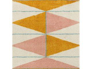 Balta levine Modern Geometric Berber Shag Area Rug  Retail 138 99