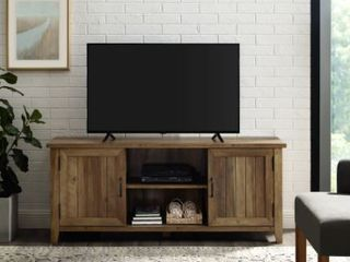 The Gray Barn Wind Gap Groove Door TV Stand Console  Retail 282 33