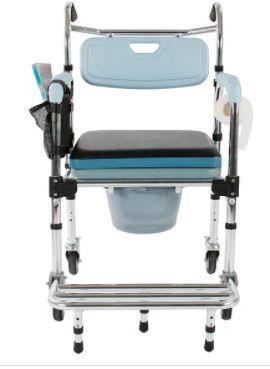 38 inch Commode Chair Bath   light Blue  Retail 119 83
