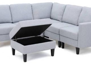Incomplete  Corner Chair Only  Zahra Sectional By Christopher Knight Home