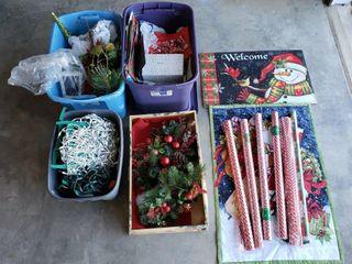 Assorted Christmas   Wrapping   Door Mat