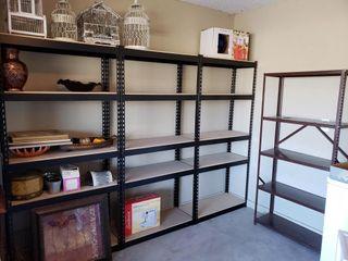 4 Garage Shelving Units   No Contents