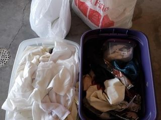 Assorted Sewing  Material  Batting