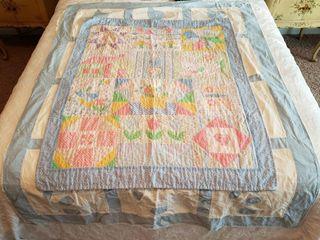 Vintage Quilts   Pair