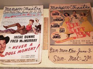 Manson Theatre Movie Posters