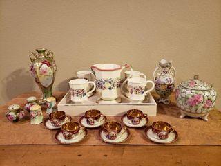 Hand Painted China   Tea Sets
