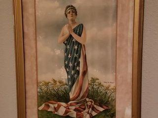 lady liberty  Give Us Peace