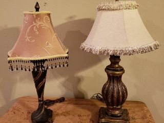 French Country Style Table lamps