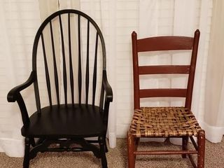 Chairs   Windsor Arm Chair   ladderback