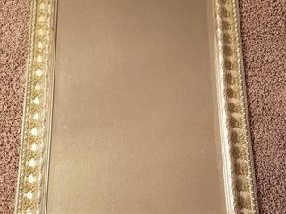 large Ornate Beveled Wall Mirror