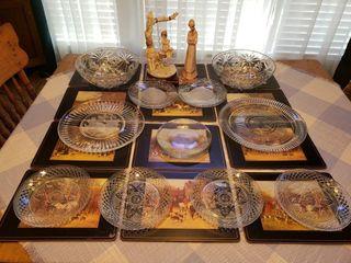 Ceramic B  Merli   Pimpernel Placemats   Glassware