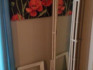 Metal Floor Mirror   Fan   Wall Decor