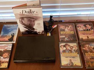 John Wayne   Gunsmoke   DVD Player   Misc DVD s