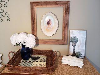 Family Sign   Natural Frame   Basket   Misc Decor