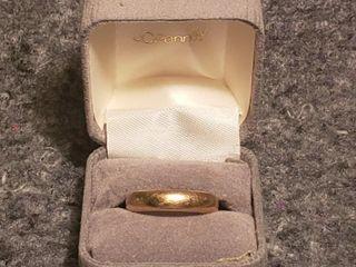 14K Gold Men s Ring   5 48g