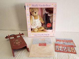 Muffy VanderBear   Bear  Sled  Stationary and Stickers