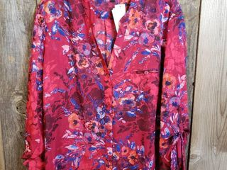 Kut From The Kloth   Sinclair Button Front Blouse   Size Xl   Stitch Fix