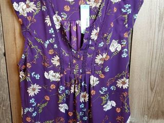 Collective Concepts Susan Cap Sleeve Blouse   Size Xl   Stitch Fix