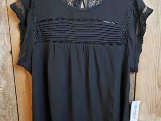 Daniel Rainn Becru lace Detail Blouse   Size Xl   Stitch Fix