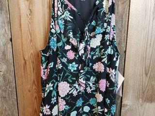 Kensie Bannon Ruffle Detail Blouse  Size Xl   Stitch Fix