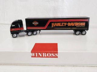 Winross Harley Davidson Tractor Trailer
