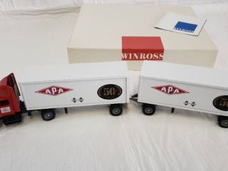 Winross Double 50th Anniversary APA Transport Corp Diecast