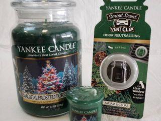 3pc  Yankee Candle Company